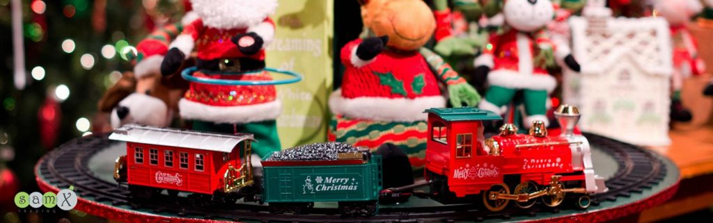 Christmas Train on tracks | Samx Trading | Christmas Wholesalers NZ